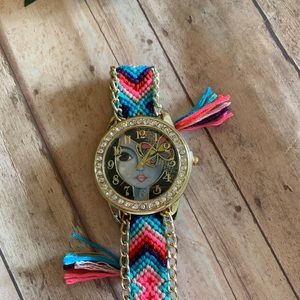Accessories - Frida Kahlo woman's watch